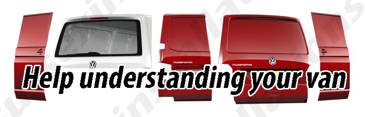 Help understanding your van